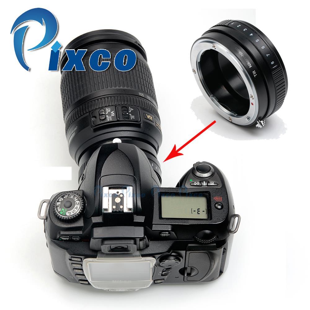 Pixco Macro Tilt Lens Mount Adapter Suit For /nikon F Mount Lens to /nikon Camera D800 D600 D7100 D5300 D3300 D5200 D750 D7000
