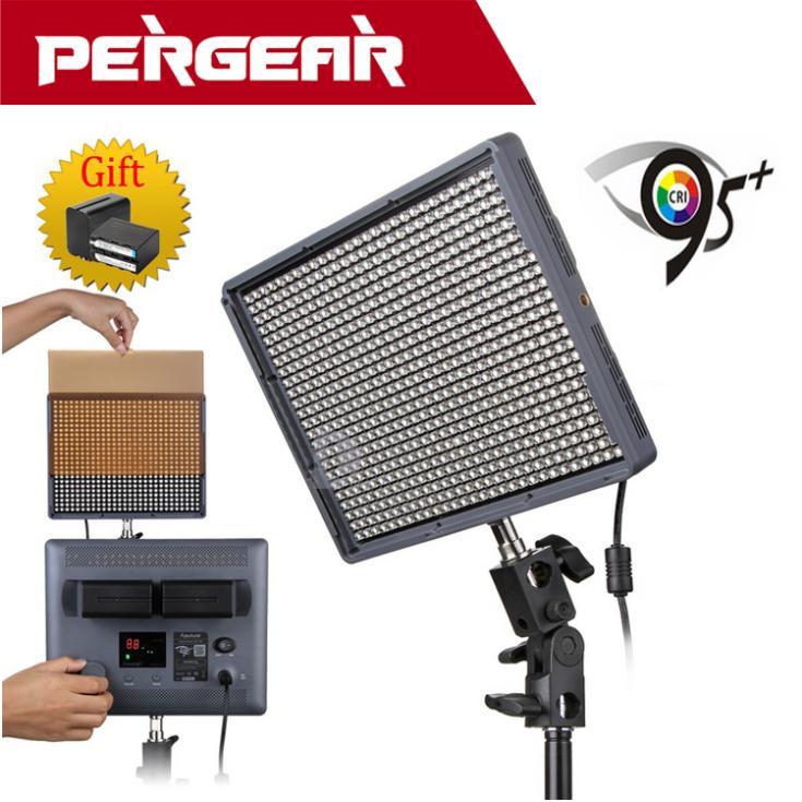 Aputure Amaran HR672W High CRI95 672 Led Video Light Panel 5500K For Camera 2 4G Wireless