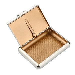 Pocket Size Metal Tobacco Box ( 95*70MM) Cigarettes Storage Case Tobacco Tin Home Office Storage Sorting Organizer Drop Ship #10(China)