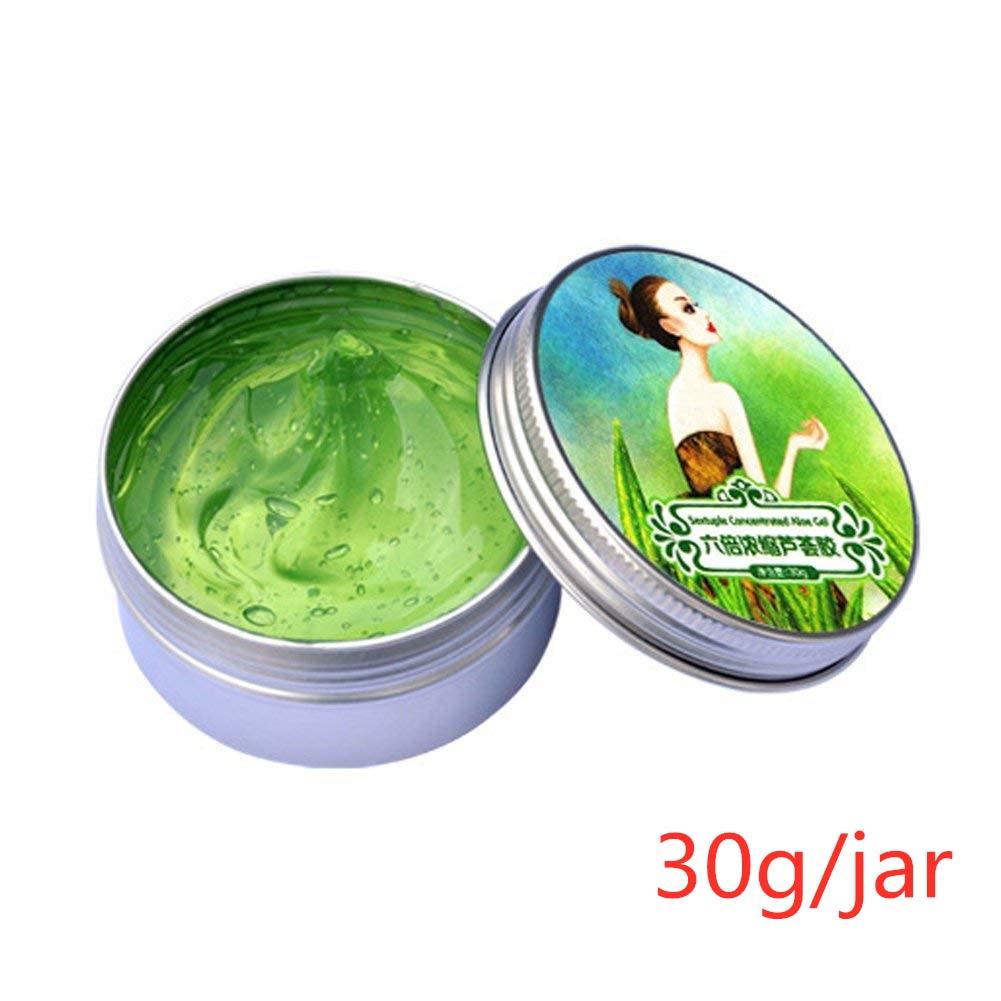 220 г гель алоэ вера 92% натуральные кремы для лица увлажняющий гель для лечения акне для восстановления кожи Натуральные Косметические продукты TSLM1 - Цвет: 30g