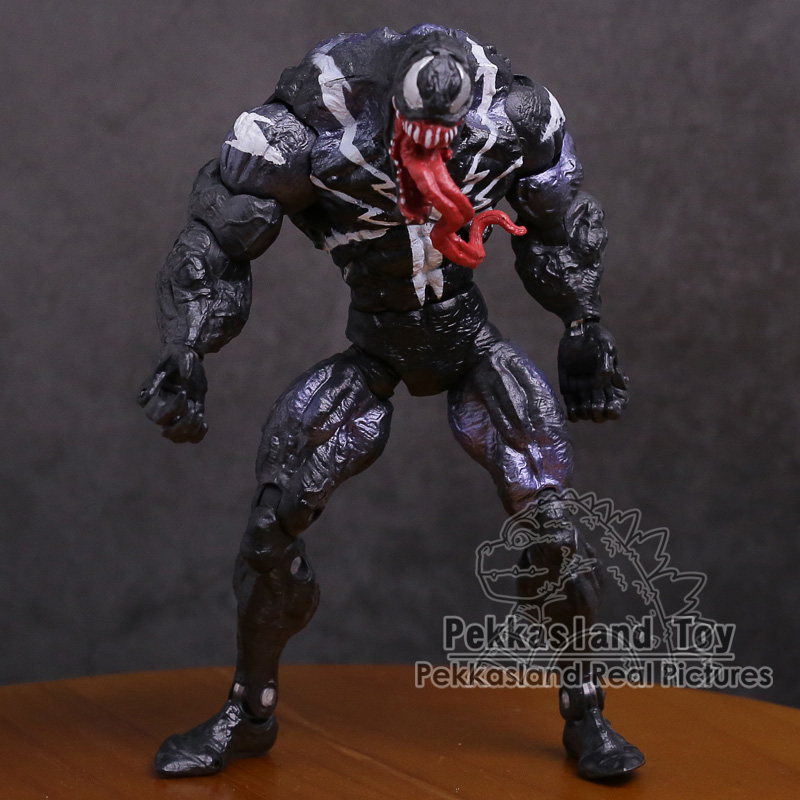 Image 2 - Genuine Original Venom PVC Action Figure Collectible Model Toy 7inch 18cm-in Action & Toy Figures from Toys & Hobbies