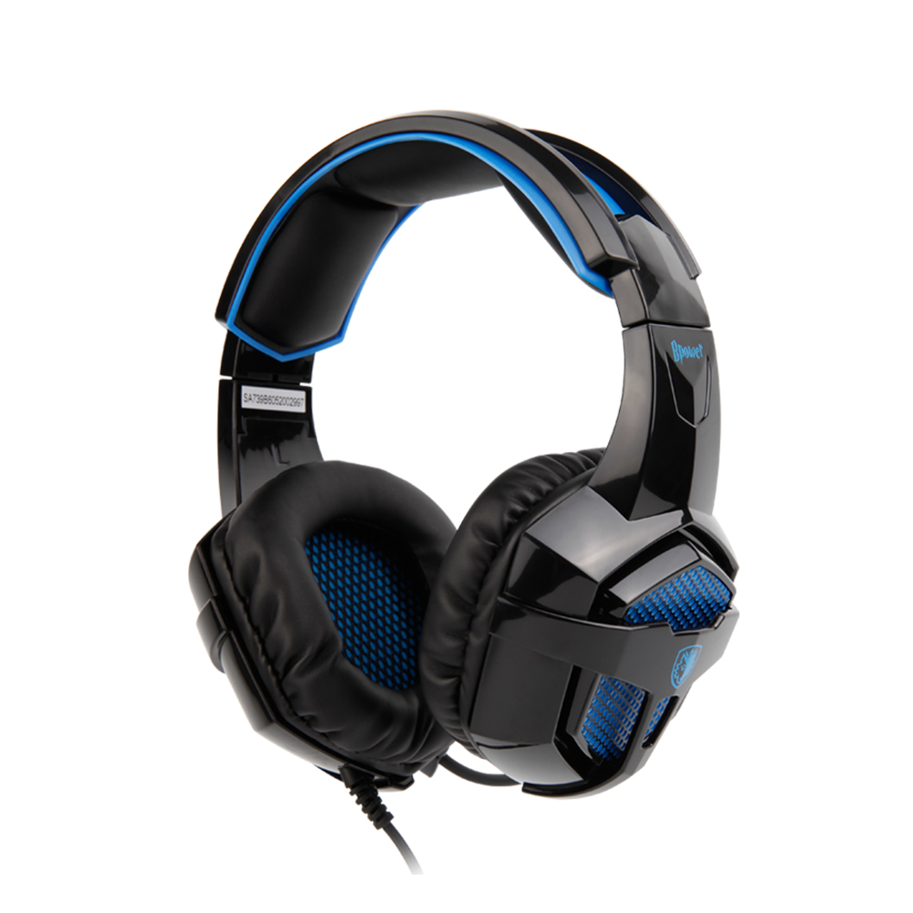 SADES Bpower Stereo Sound Headset 3.5mm Headband headphones Gaming Headphone Applicable to Xbox One/PS4/PC/Laptop/Mobile Devices factory price binmer sades 7 1 surround sound bass headband gaming headset cobra design jy29 drop shipping