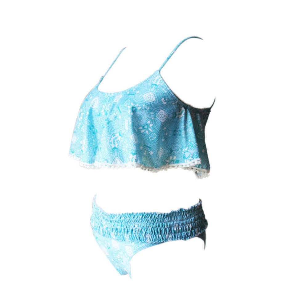 النساء Tankini (الدانتيل يصل الرسن) ملابس السباحة بيكيني أعلى (منخفضة منتصف الخصر) أسفل سيدة مثير سلك شحن البرازيلي مبطن ملابس السباحة شاطئ ثوب السباحة