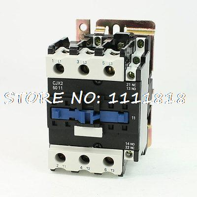 цена на CJX2-5011 AC Contactor 80 Amp 3 Phase 3-Pole NO 220V 50/60Hz Coil