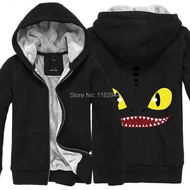 Thick sweatshirts hot winter anime train your dragon coat cartoon thick sweatshirts hot winter anime train your dragon coat cartoon coat for male female thick top ccuart Choice Image