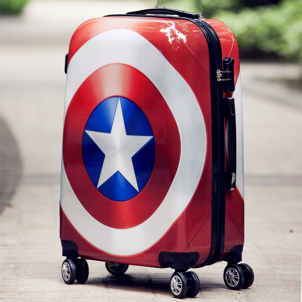 20 24 inch Rolling luggage Spinner Women Trolley men Travel Bag Student Carry On Children Kids Trunk Suitcases Wheels in Rolling Luggage from Luggage Bags