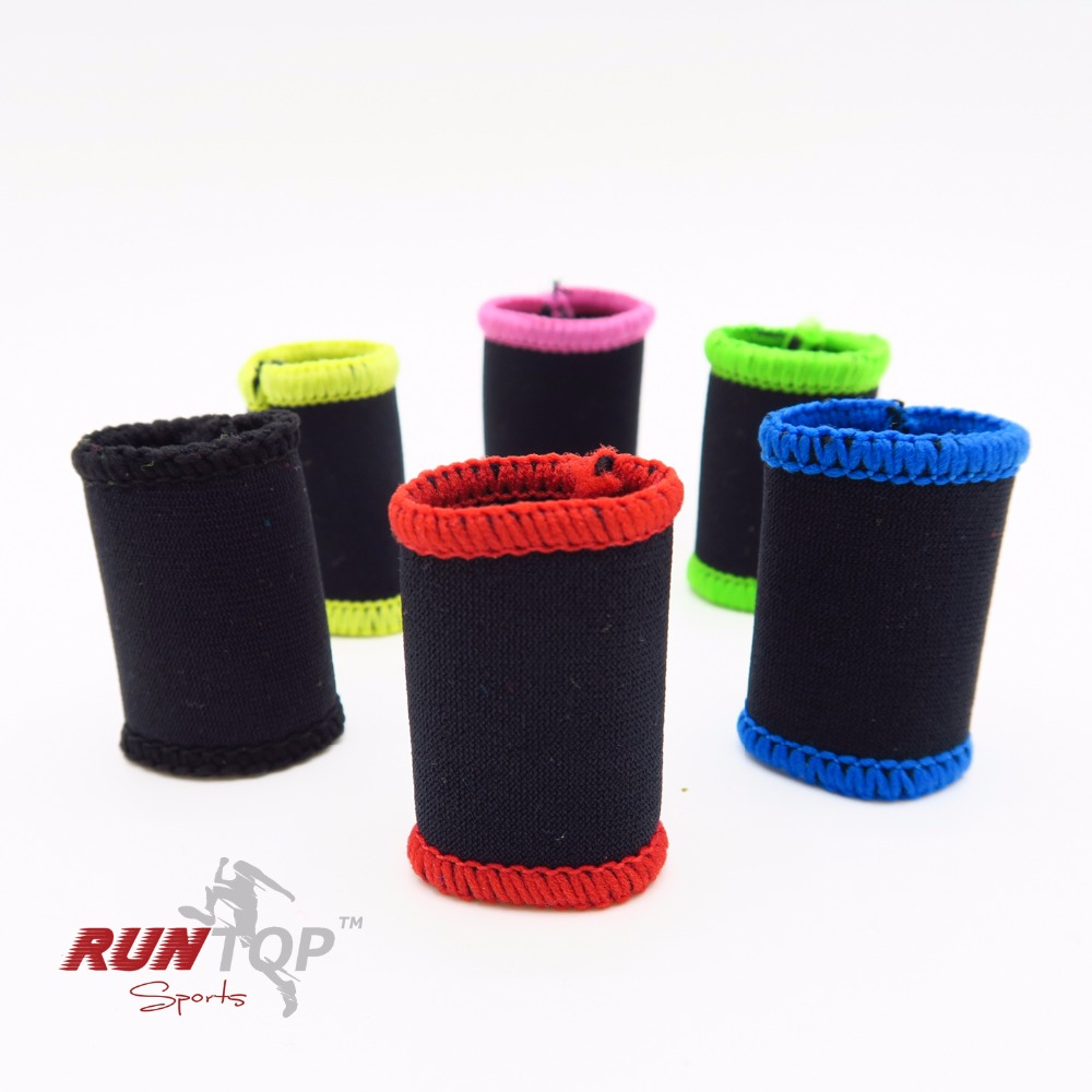 RUNTOP Finger Daumenhülsen Hakengriffschutz für Gewichtheben - Fitness und Bodybuilding - Foto 2