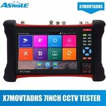 цена на HOT 1920*1200 7 Touch Screen CCTV Tester Monitor H.265 4K IP Camera Tester HDMI Input 6 in 1 CCTV Tester Pro IPC-X7-MOVTADHS