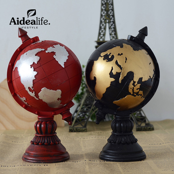 world globe resin cabochon vintage home decor wedding activities little gift desk decoration miniature crafts desk toy