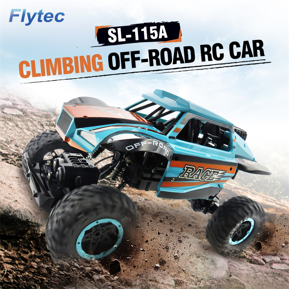 Flytec SL-115A 1/14 4WD 25km/h High Speed Rock Off-Road Vehicle Crawler RC Car Remote Control Models Kids Gifts dynacord dynacord a 115a