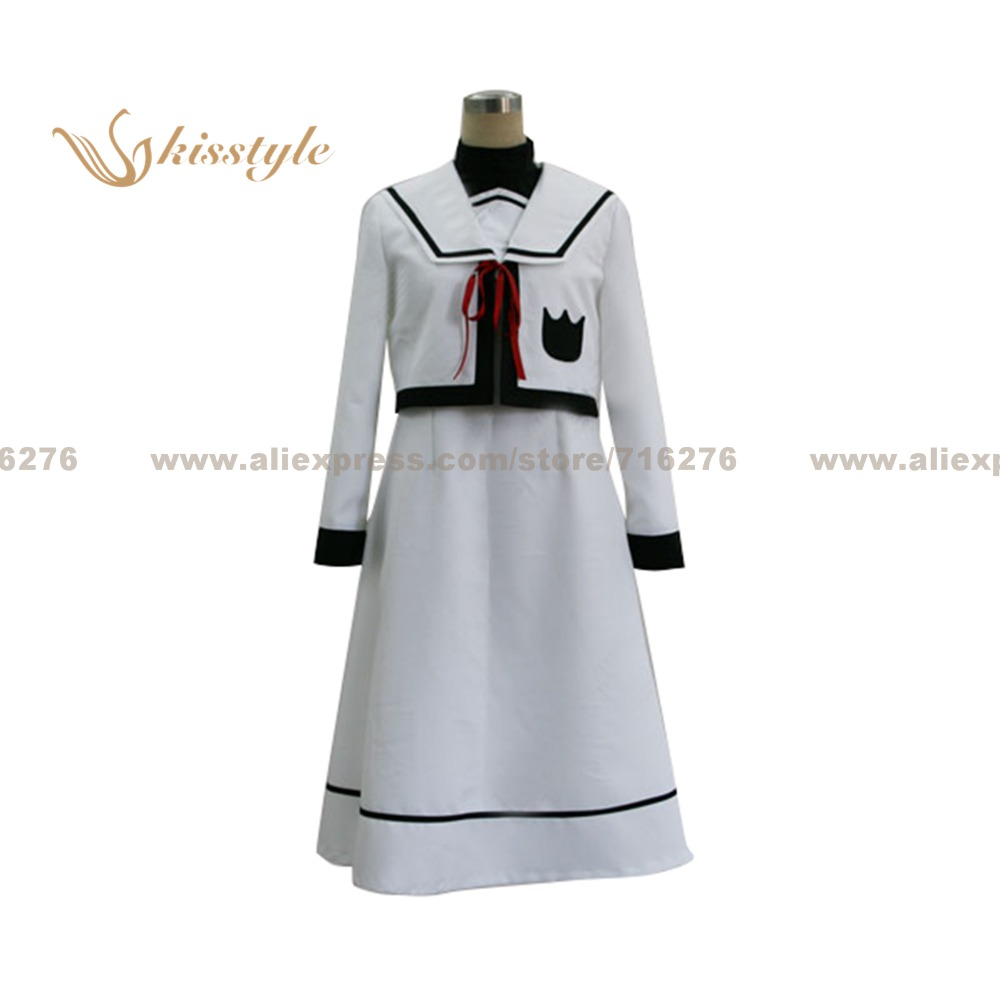 Kisstyle Fashion Magical Girl Lyrical Nanoha Fate Testarossa Uniform COS Clothing font b Cosplay b font