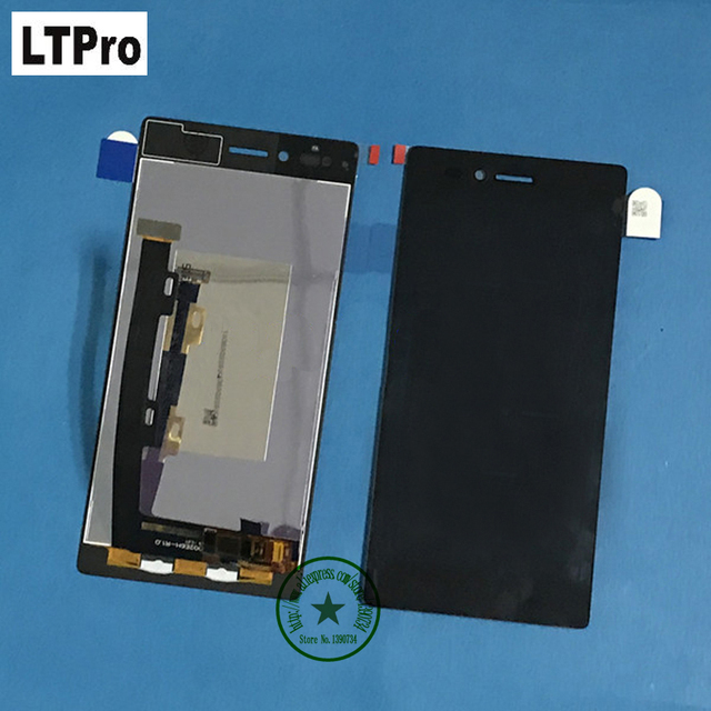 LTPro High quality Test work lcd display touch screen digitizer assembly for Lenovo VIBE Shot MAX Z90 z90a40 z90-7 Mobile Parts