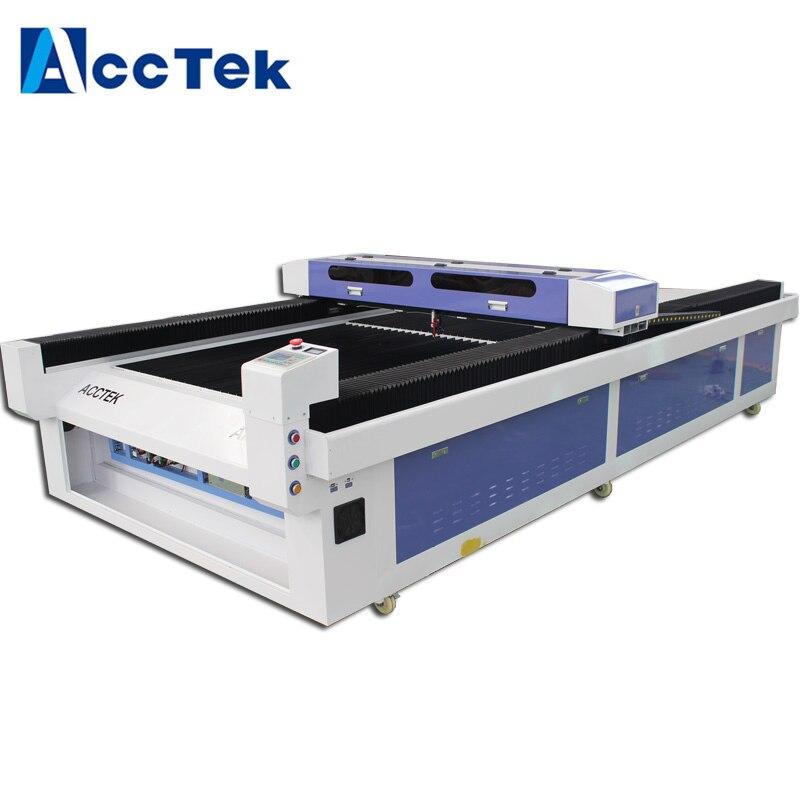 AccTek Wood/ Acrylic Laser Cutter Machine 1500x3000mm/ 80w/100w/150w Laser Cutting Machine Price