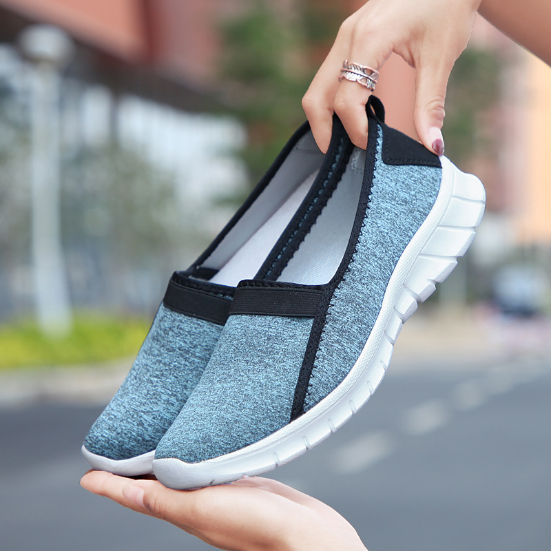 Breathable Flat Shoes Women Summer Ladies Casual Shoes 2019 New Lightweight Gray Soft Sneakers Woman Zapatos MujerBreathable Flat Shoes Women Summer Ladies Casual Shoes 2019 New Lightweight Gray Soft Sneakers Woman Zapatos Mujer