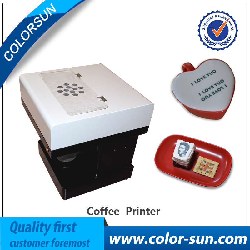 DIY design coffee printer art design beverage biscuit cream cake cookies food chocolate coffee printer/ latte printer