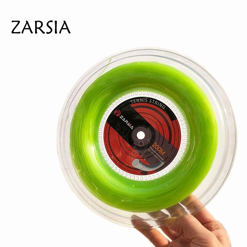 1 Reel ZARSIA Nylon Tennis String Elastic 60lbs Tennis Rackets String Soft Durable Tennis Strings 1.30mm