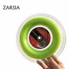 1 Reel ZARSIA Nylon tennis string Elastic 60lbs tennis rackets string soft durable tennis strings 1.30mm(China)