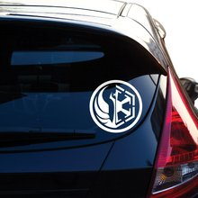 Old Republic Combined Symbol Inspired By Movie Star Wars Decal Sticker for Car Window, Laptop