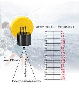 Image 5 - 새로운 도착 유선 100 m 휴대용 수중 음파 탐지기 lcd 물고기 파인더 낚시 미끼 에코 사운 더 낚시 파인더