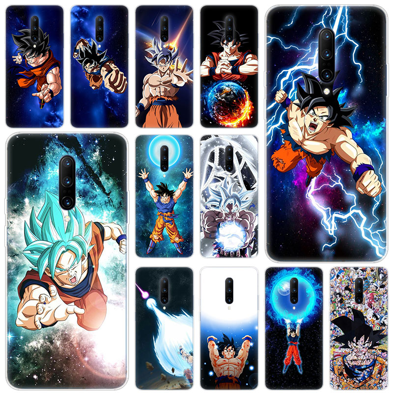 Hot Dragon Ball Goku Ultra Instinct Soft Silicone Fashion Transparent Case For font b OnePlus b