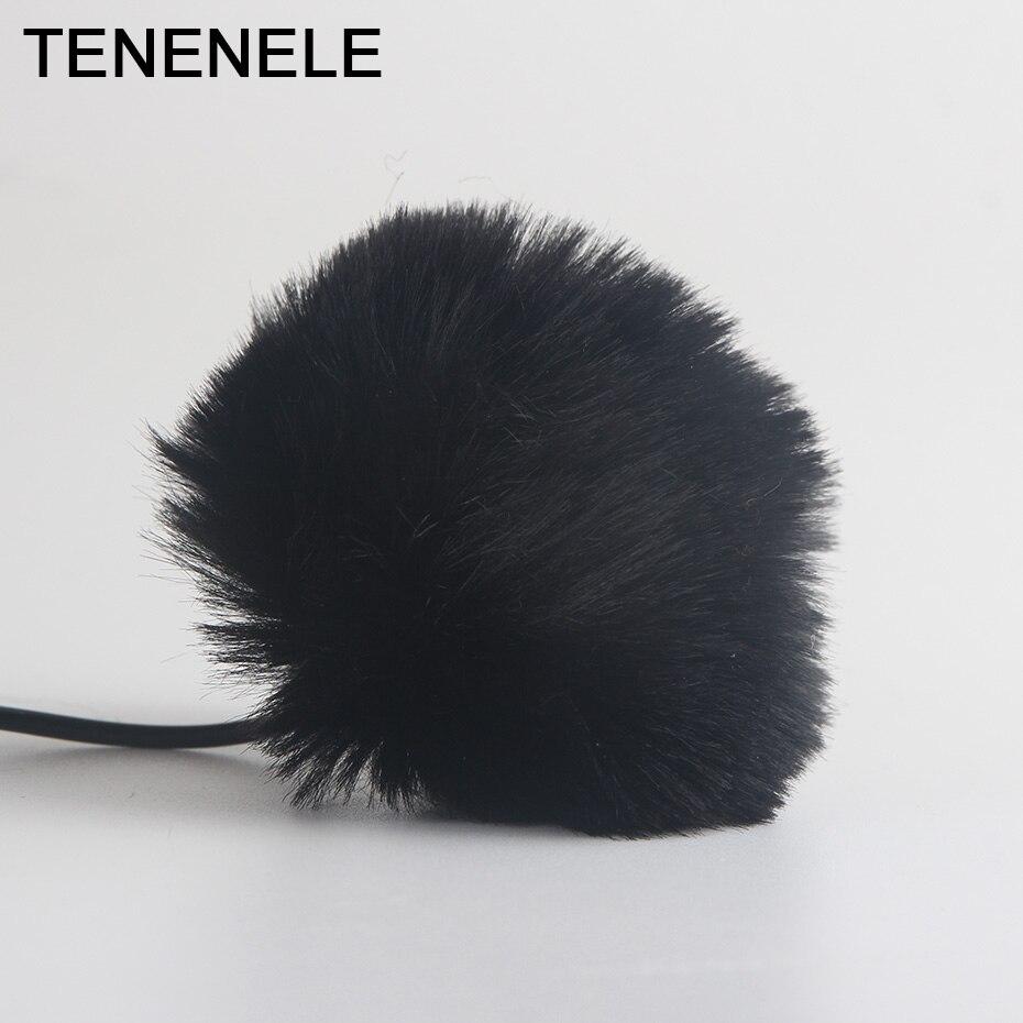 Clever Tenenele Outdoor Pelzigen Mikrofon Muff Windschutzscheibe Lavalier-mikrofon Windschutz Wind Abdeckung Für 5mm Größe Mikrofone Mic Eine Hohe Bewunderung Gewinnen Tragbares Audio & Video