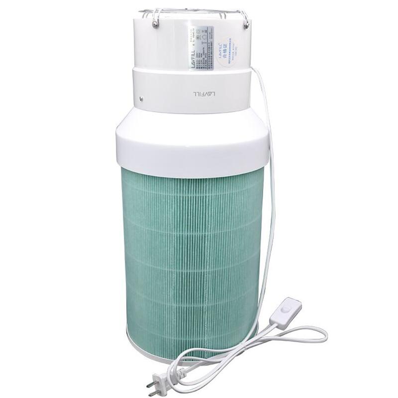 DIY Air Purifier Homemade Air Cleaner HEPA Filter Remove PM2.5 Smoke Odor Dust Formaldehyde TVOC Y