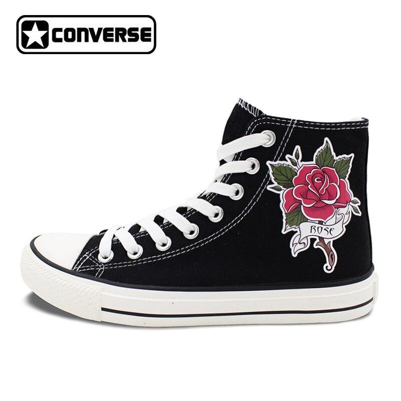 Zapatos negros Converse All Star Hi para mujer talla 36 lRkKnE