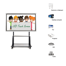 55 inch touch screen all in one computer pc I7 4770 Quad-core led board