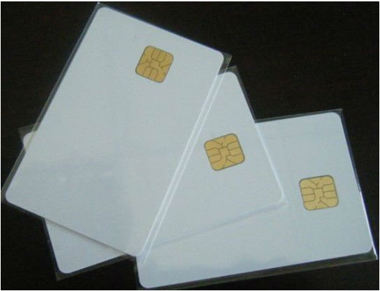 free shipping 100PCS Contact SLE4428 Chip Smart Blank Card Suport ACR38U IPC SPC N1 ND 1281