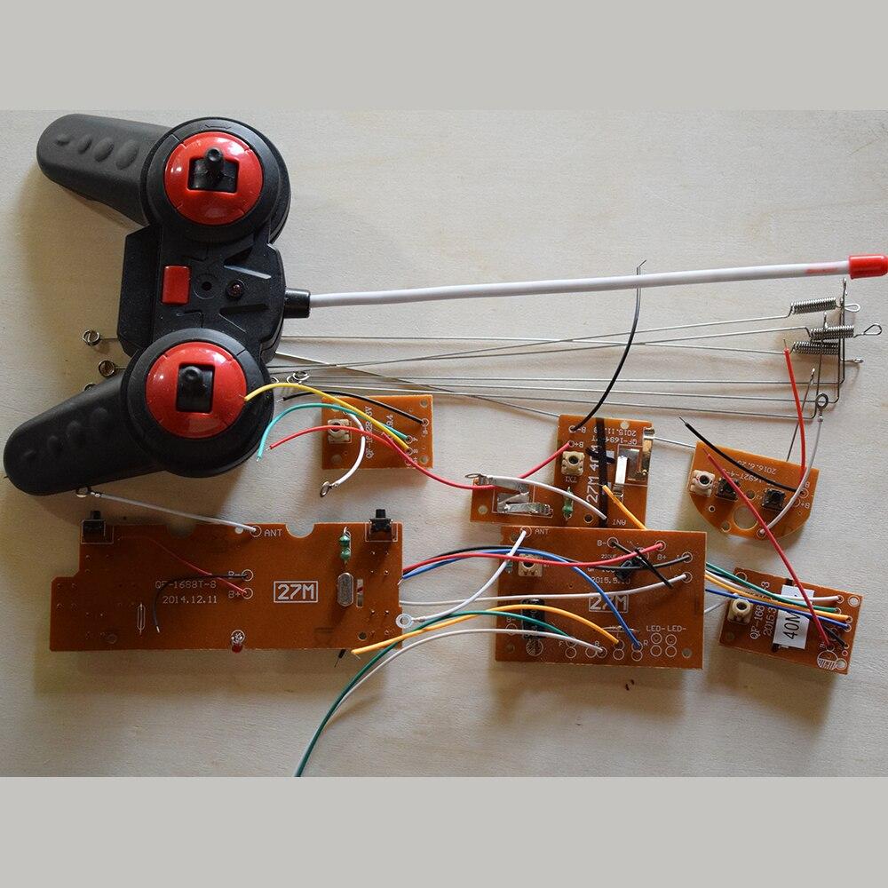 5 tipo 27/40/49 MHz módulo de tarjeta electrónica de control remoto/modelo de te