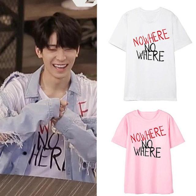 Mainlead nueva Kpop 17 camiseta Joshua Mingyu Jun Unisex donde No Tops