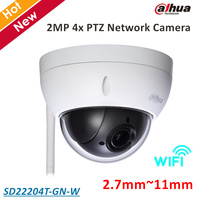 Dahua PTZ Camera SD22204T GN W 2MP 4x PTZ Network Camera 2 7mm 11mm Support Wifi