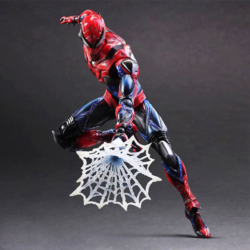 Spider Man Play Arts Kai PA Action Figure Model Doll Toy Statue Collection Gift Anime Figure Collectible Model Toy зарядное устройство apple magsafe 2 45w power adapter для macbook air