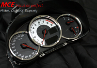 3 pcs High quality Speedometer odometer tachometer Instrument metal decoration cover for Toyota GT86 FT86 86 SUBARU BRZ