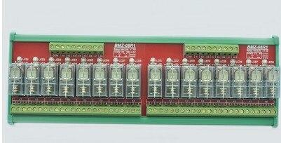 FREE SHIPPING BMZ-16R1 16 Relay Module  Module 24V Input