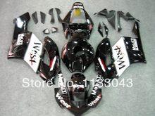 100%Fit Injection WEST Fairing kit for HONDA CBR1000 RR 04 05 CBR1000 04 05 CBR 1000RR 2004 2005 black white fairing parts #6X67
