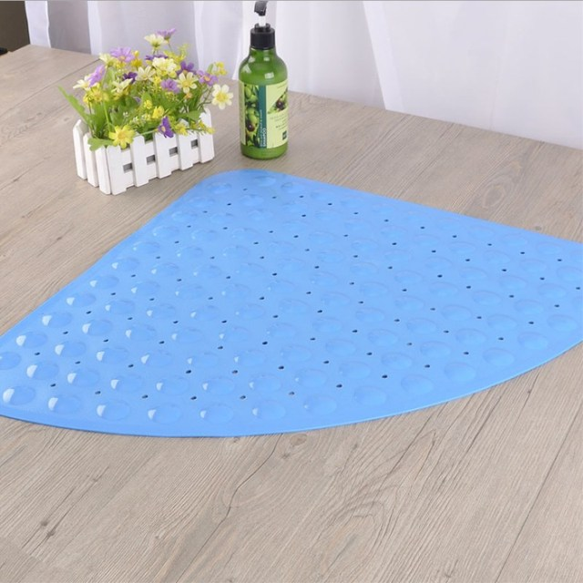 Us 22 96 40 Off Solid Non Slip Bath Mats For Shower And Bathroom Products Antimicrobial Pvc Kitchen Mat Suction Cup Transpa In