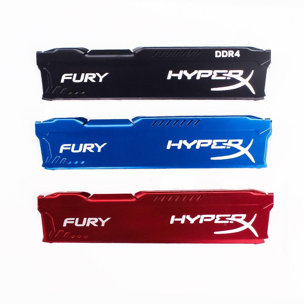 RAM disipador de calor del radiador para ram DDR3 memoria de Enfriamiento del refrigerador disipador de calor escritorio memoria del radiador para FURY HyperX DDR3 DDR4