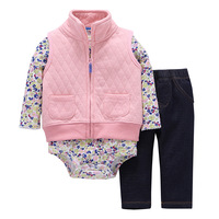 New Baby Girl Clothes Cotton Fashion Baby Boy Clothes Kids Bebes Autumn Spring Clothing Set Casual