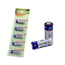 Wholesale 5pcs/lot New 12V 23A Super Alkalin Battery 23AGP MN21 V23GA VR22 A23 L1028 Dry Batteries