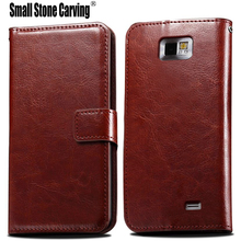 For Samsung Galaxy S2 Case Stylish Retro Crazy Horse Flip Leather Case Coque For Samsung Galaxy S2 Case i9100 SII Phone Cove