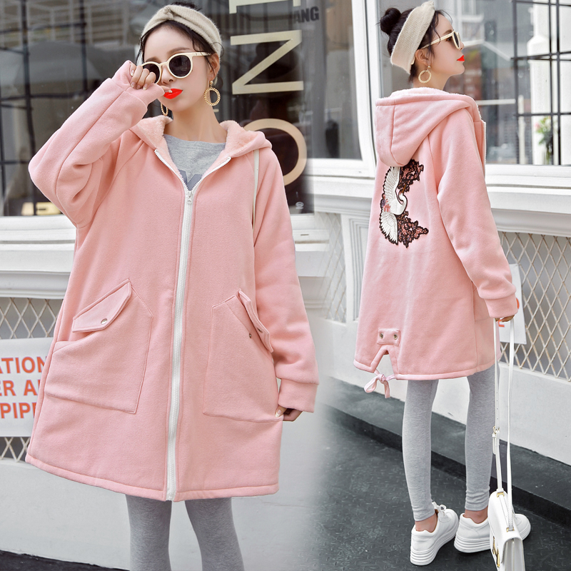 New Fashion Maternity Hoodies Winter Jacket For Pregnant Women Maternity Coat Autumn Pregnancy Jacket autumn and winter coat for women a new autumn winter coat for women page 3