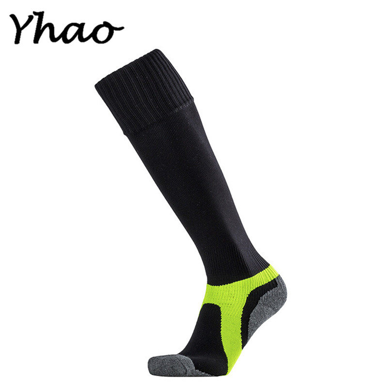 Yhao outdoor sport cycling socks men long basketball soccer socks male compression socks men athletic socks