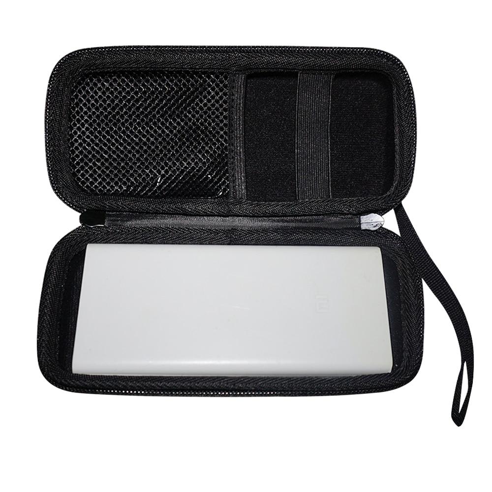 Nueva EVA duro caja de viajes portátil caso para Xiaomi mi 20000 banco de potencia 20000 mAh 2C cubierta portátil de la batería externa bolsa del teléfono