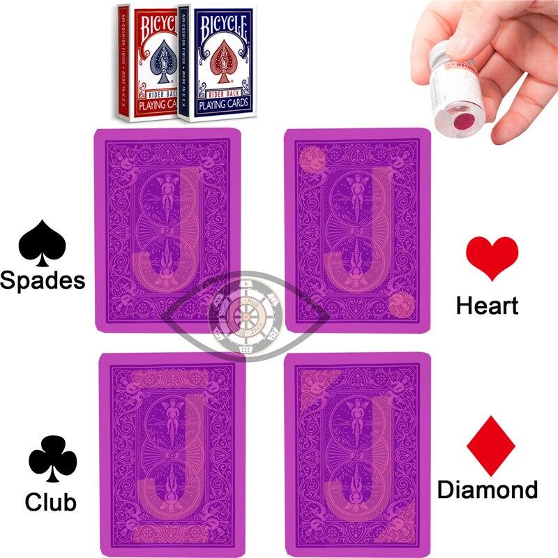 Poker de Plástico Plástico Jogando Cartas Preto Jogando