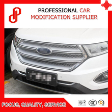 High quality Stainless steel modification car front grille racing grills grill cover for Edge 2015