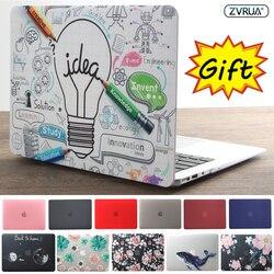 Alta qualidade 2019 HOT Vender laptop Case Para Apple macbook Air Pro Retina 11 12 13 15 Para Mac livro 13.3 polegada com Barra de Toque