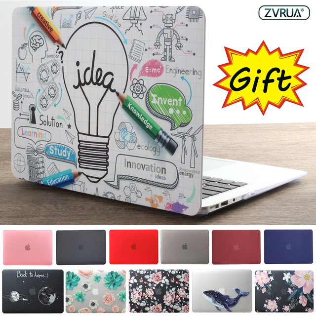 high quality 2019 HOT Sell laptop Case For Apple macbook Air Pro Retina 11 12 13 15 For Mac book 13.3 inch with Touch Bar + Gift
