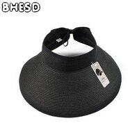 Girls Vacation Foldable Summer Hats Children Adjustable Wide Brim Boys And Girls Beach Sun Hat Straw