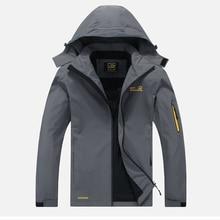 2017 New Men's Waterproof Windpoof Jackets Men Spring Autumn Jacket Coats Male Brand Clothing Plus Size L-5XL